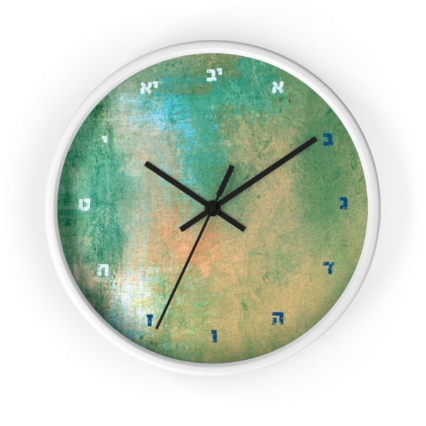 hebrew clock