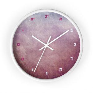 """Jewish Wall clock """"Shabbat"""""""