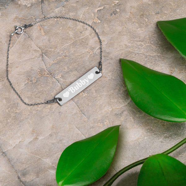 bubby silver bracelet