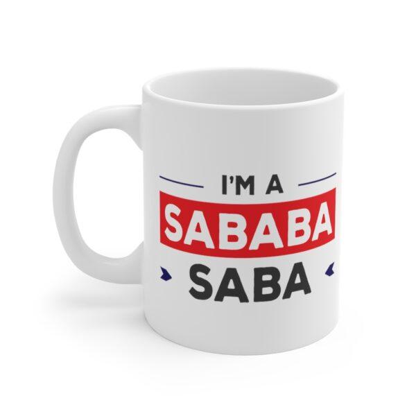 Saba sababa mug