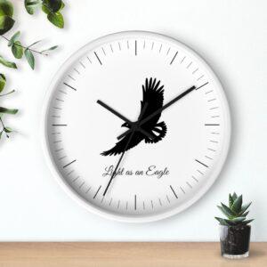 Light as an Eagle Jewish Wall clock