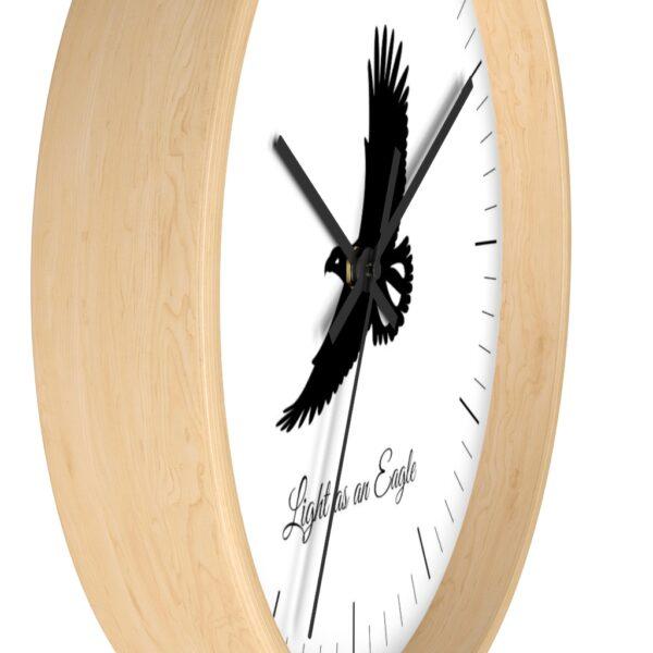 eagle jewish clock