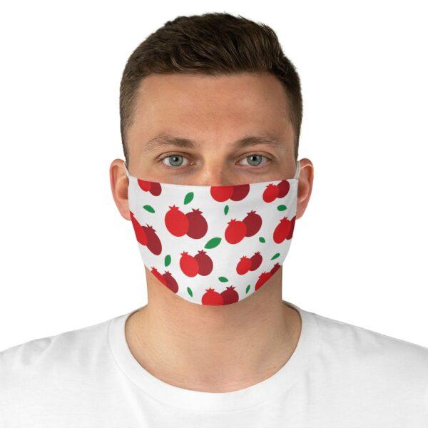 rosh hashanah pomegranate pattern face mask