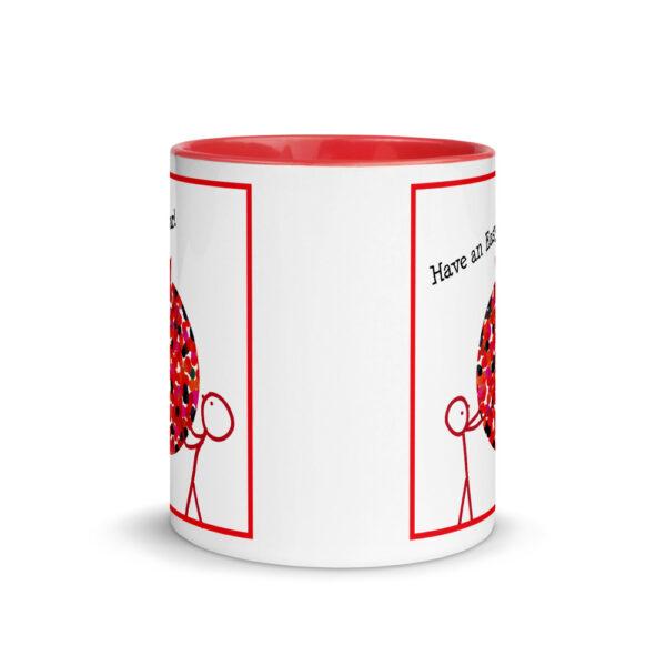 rosh hashanah pomegranate mug