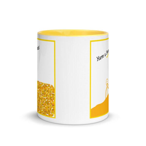 rosh hashanah honey mug