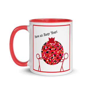 Have an Easy Year Mug with Color Inside