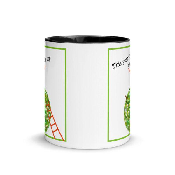 rosh hashanah apple mug