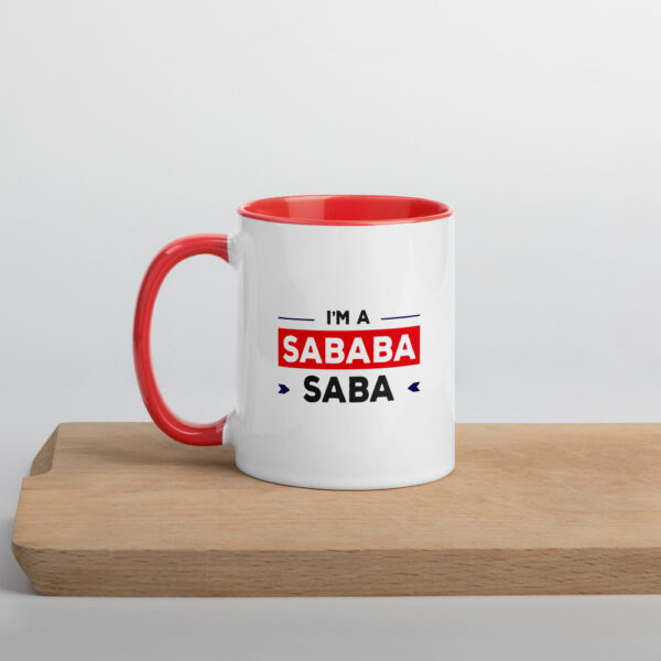 Saba sababa mug colored