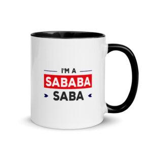 I'm A Saba Sababa Mug with Color Inside