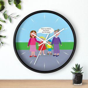 Jewish Mother Wall clock